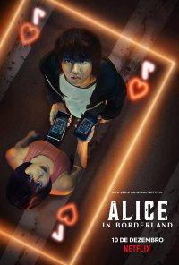 Poster da série Imawa no Kuni no Alice / Alice in Borderland (2020)