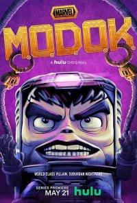 Poster da série Marvel's M.O.D.O.K. (2021)
