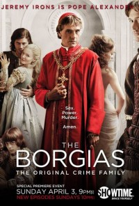 Poster da série The Borgias (2011)