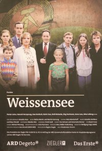 Poster da série Amor em Berlim / Weissensee (2010)