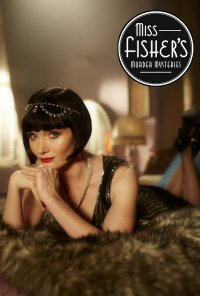 Poster da série Miss Fisher / Miss Fisher's Murder Mysteries (2012)