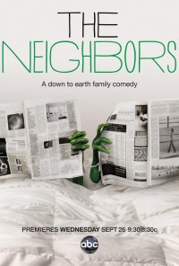 Poster da série Alienados / The Neighbors (2012)