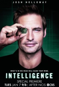 Poster da série Intelligence (2013)