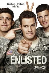 Poster da série Enlisted (2013)