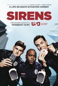 Poster da série Sirens (2014)