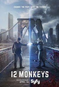 Poster da série 12 Macacos / 12 Monkeys (2015)