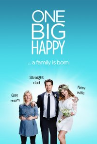 Poster da série One Big Happy (2015)