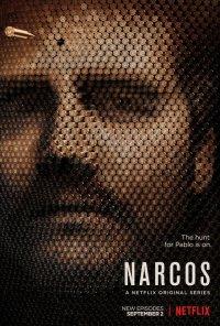 Poster da série Narcos (2015)
