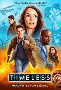 Poster da série Timeless (2016)