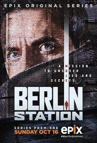 Poster da série Berlin Station (2016)