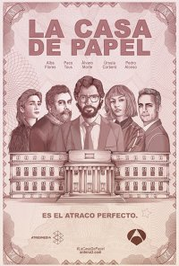 Poster da série A Casa de Papel / La Casa de Papel (2017)
