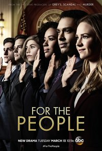 Poster da série For the People (2018)