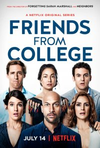 Poster da série Amigos de Faculdade / Friends from College (2017)