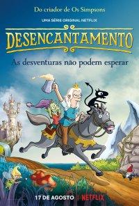 Poster da série Desencantamento / Disenchantment (2018)