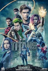 Poster da série Titans (2018)