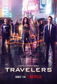 Poster da série Travelers (2016)