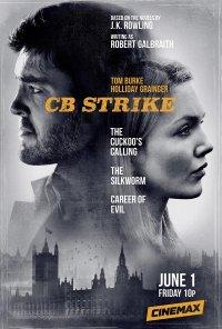 Poster da série C.B. Strike (2017)