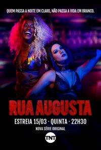 Poster da série Rua Augusta (2018)