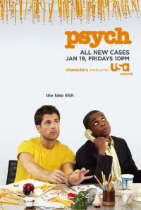 Poster da série Psych (2006)