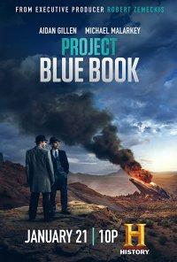 Poster da série Projeto Blue Book / Project Blue Book (2019)