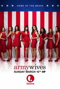 Poster da série Mulheres de Armas / Army Wives (2007)