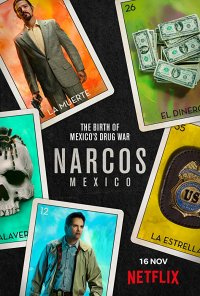 Poster da série Narcos: Mexico (2018)