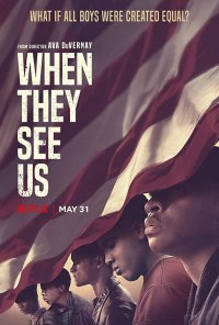 Poster da série When They See Us (2019)