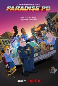Poster da série Paradise Police (2018)