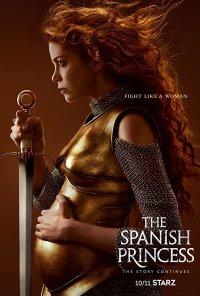 Poster da série The Spanish Princess (2019)