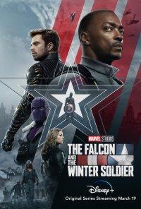 Poster da série O Falcão e o Soldado do Inverno / The Falcon and the Winter Soldier (2021)