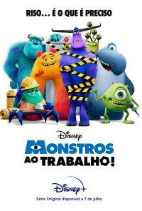 Poster da série Monstros ao Trabalho / Monsters at Work (2021)