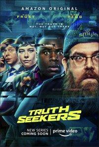 Poster da série Caça-Verdades / Truth Seekers (2020)