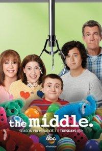 Poster da série No Meio do Nada / The Middle (2009)