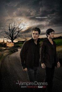 Poster da série Diários do Vampiro / The Vampire Diaries (2009)