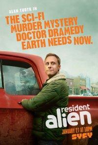 Poster da série Resident Alien (2021)
