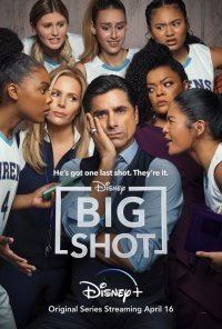 Poster da série Lance Livre / Big Shot (2021)