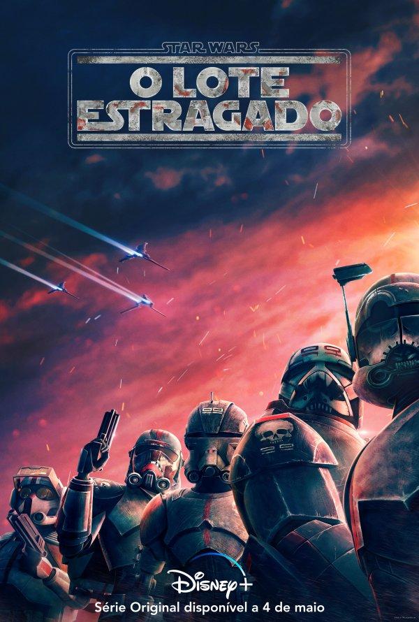 Poster Star Wars: O Lote Estragado / Star Wars: The Bad Batch (2021)
