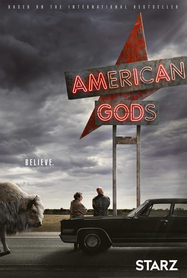Poster American Gods (2017)